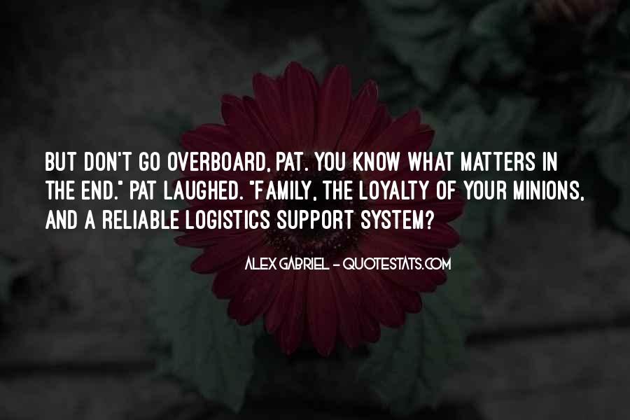 Family Really Matters Quotes #630392