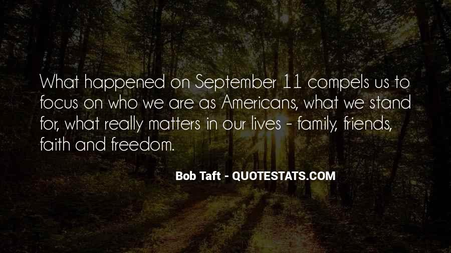 Family Really Matters Quotes #787650