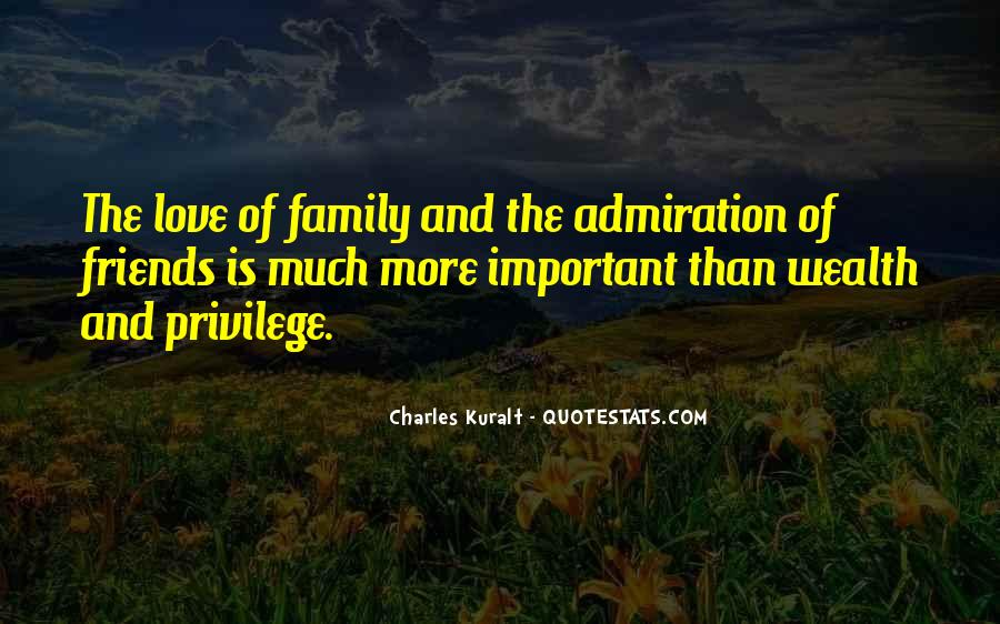 Family Wealth Quotes #1020579
