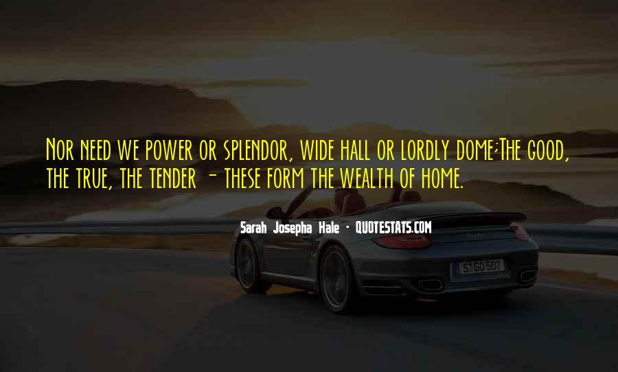 Family Wealth Quotes #1088925