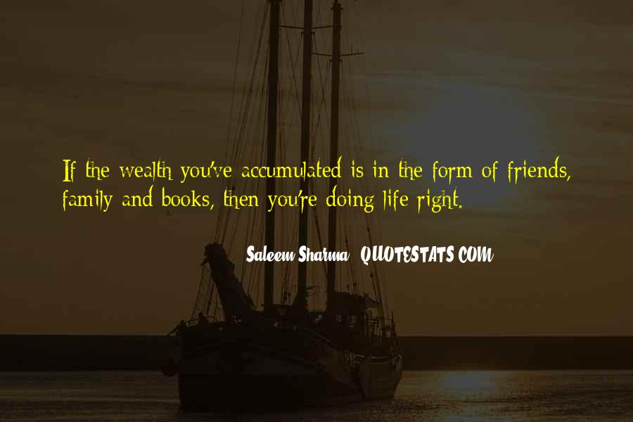 Family Wealth Quotes #1155135