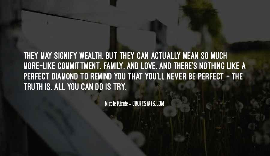 Family Wealth Quotes #1386214