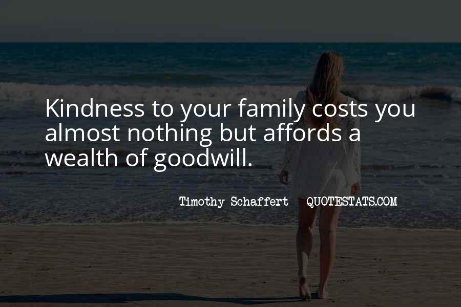 Family Wealth Quotes #162074
