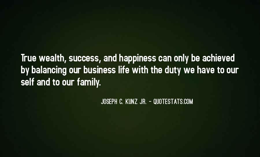 Family Wealth Quotes #1622736