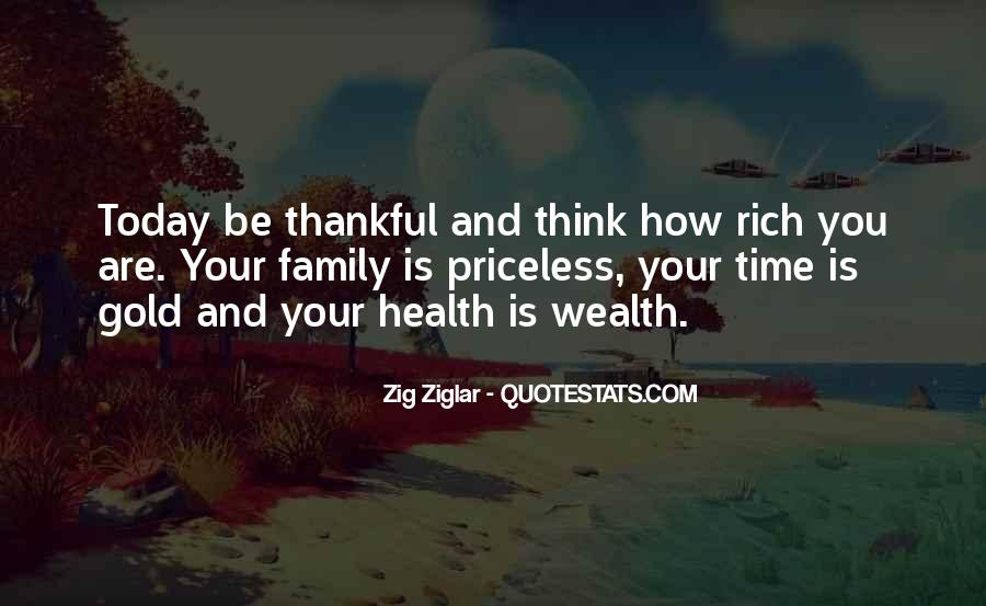 Family Wealth Quotes #1837174