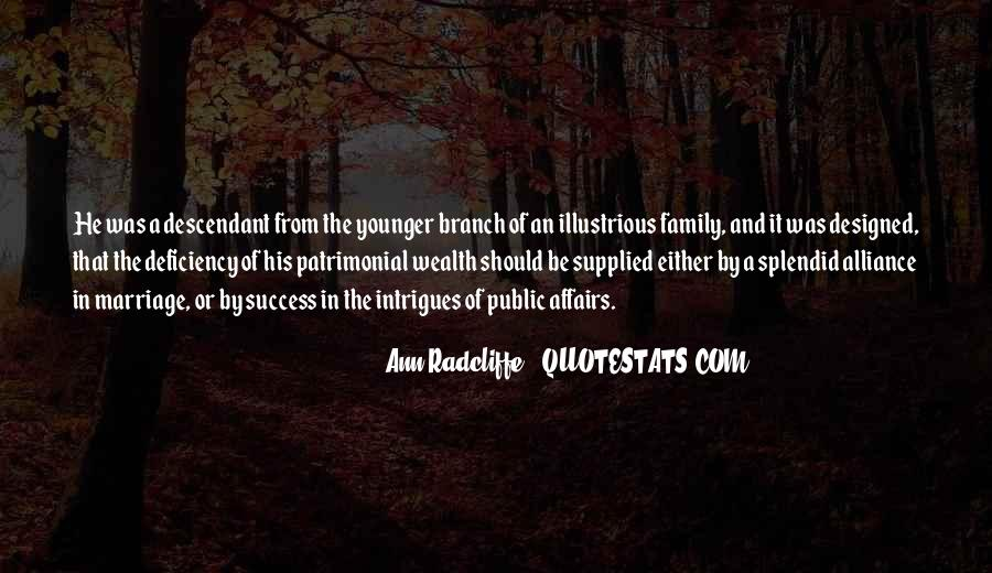 Family Wealth Quotes #261036