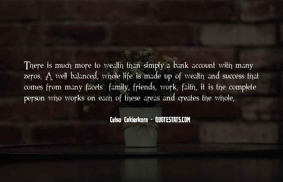 Family Wealth Quotes #328342
