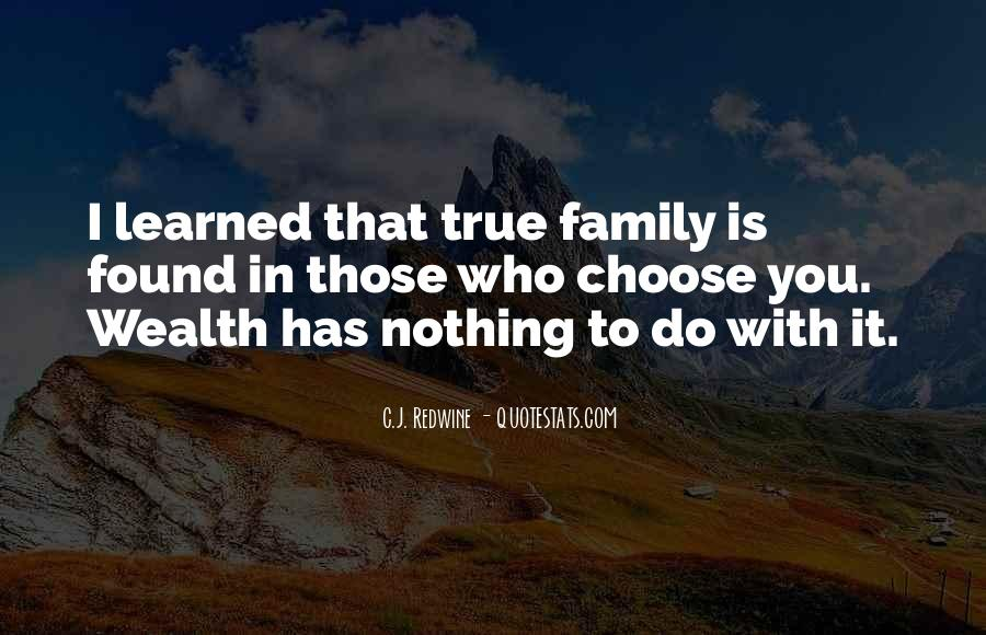 Family Wealth Quotes #798970