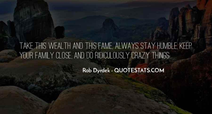 Family Wealth Quotes #90470