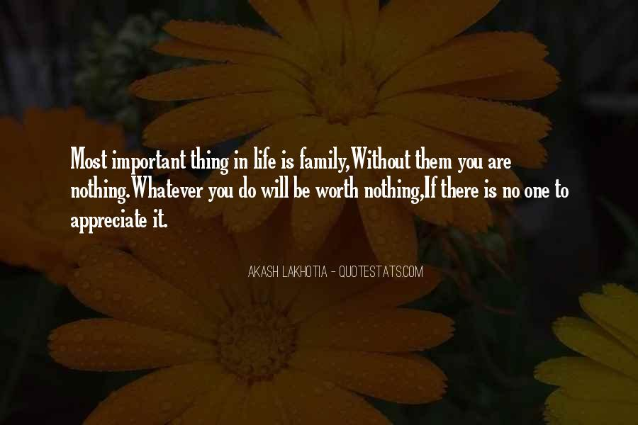 Family Will Be There Quotes #161708