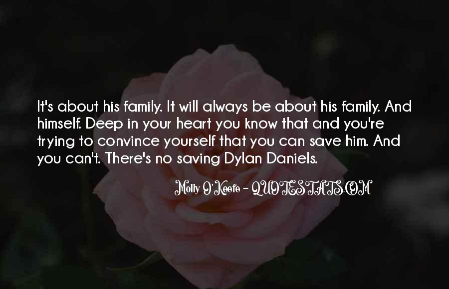 Family Will Be There Quotes #772834
