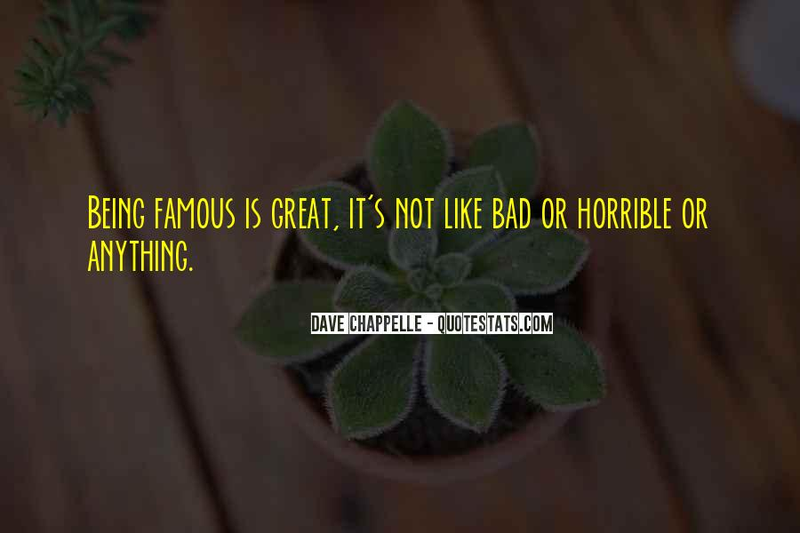 Famous Bad Quotes #1445748