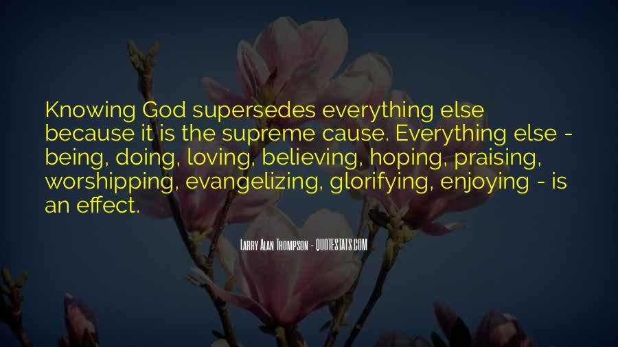 Quotes About Hoping In God #1216541
