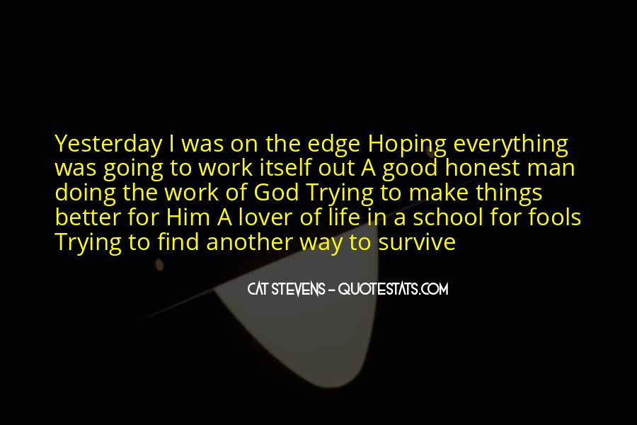 Quotes About Hoping In God #1694817