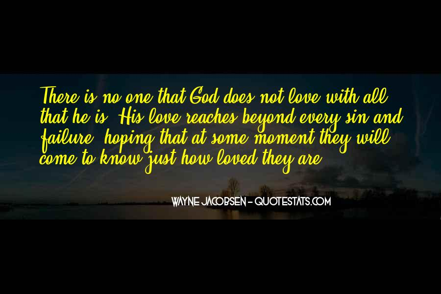 Quotes About Hoping In God #231299
