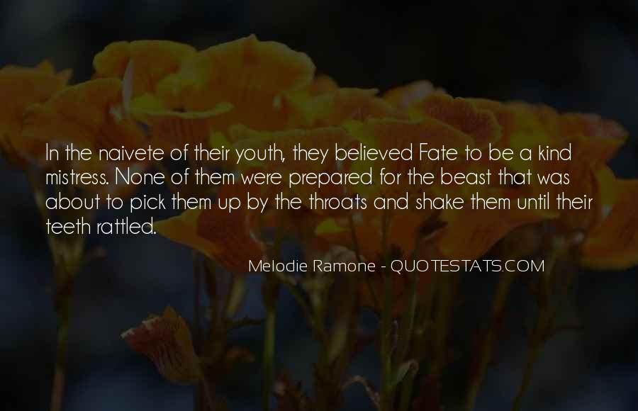 Famous Be Prepared Quotes #1525961
