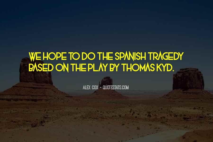 Quotes About Hope In Spanish #1149505