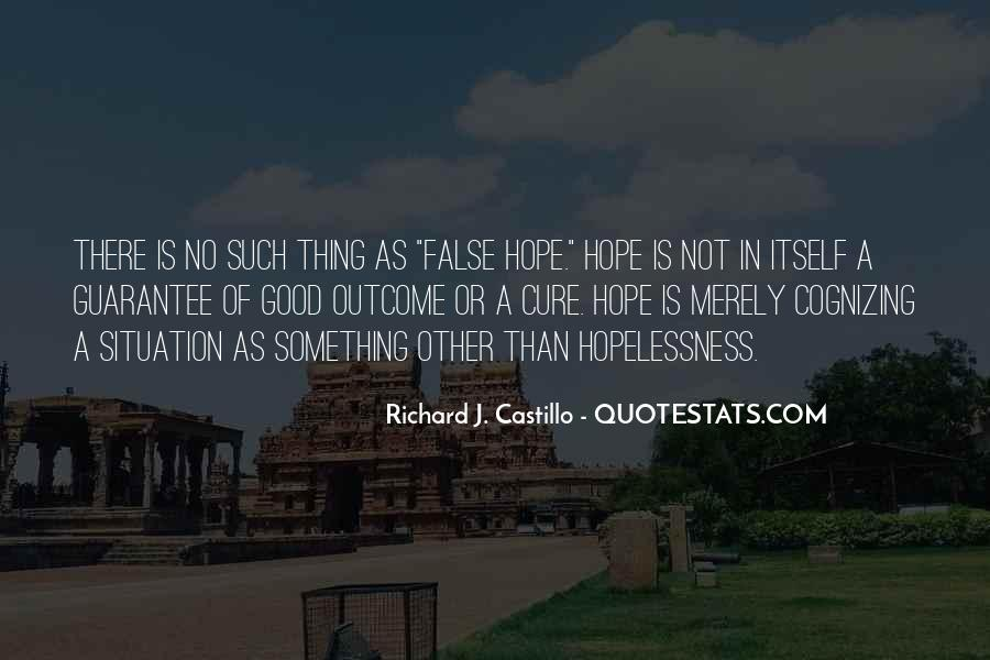 Quotes About Hope For A Cure #1198424