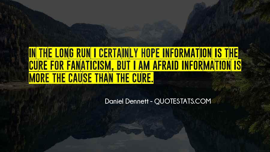 Quotes About Hope For A Cure #1624435