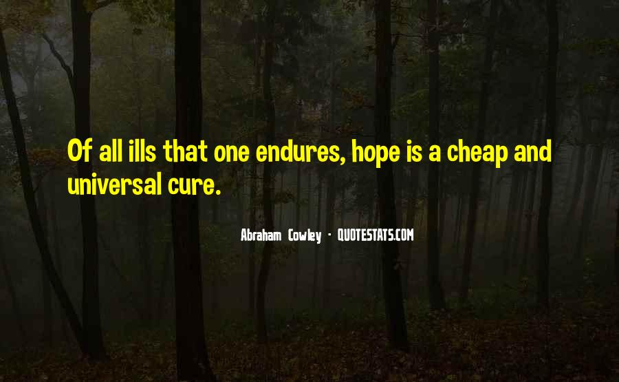 Quotes About Hope For A Cure #1812131