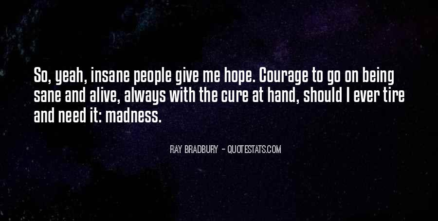 Quotes About Hope For A Cure #206484