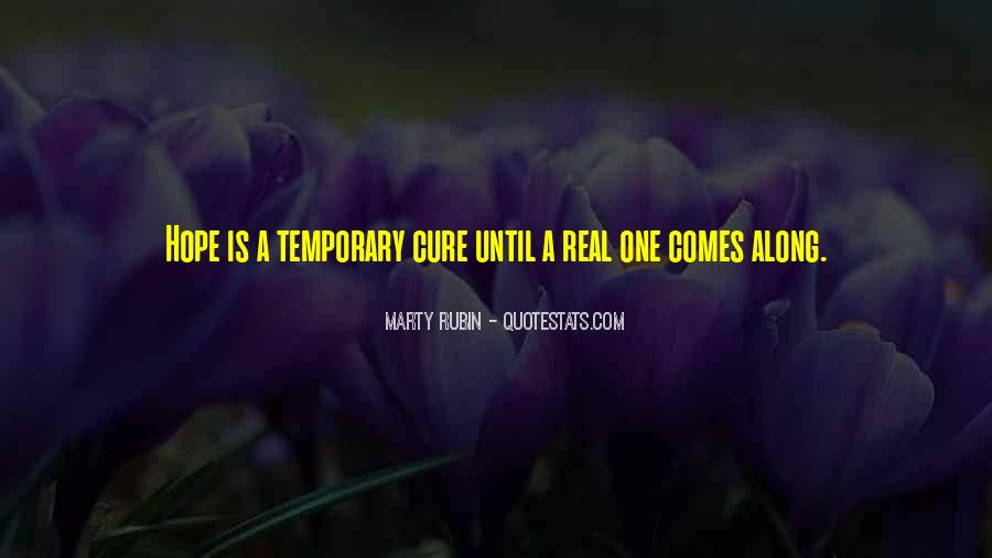 Quotes About Hope For A Cure #588329