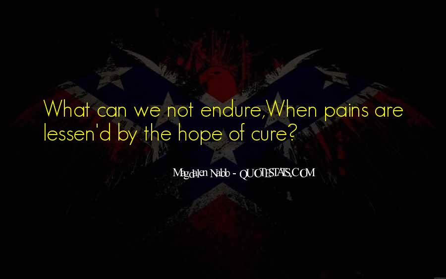 Quotes About Hope For A Cure #630077