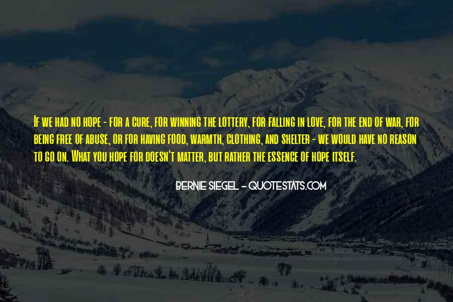 Quotes About Hope For A Cure #799727