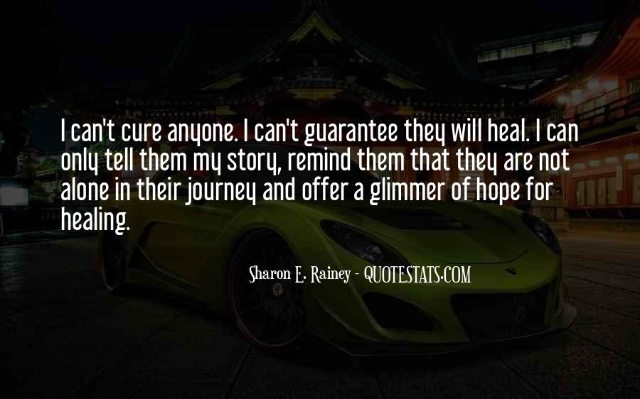 Quotes About Hope For A Cure #82890