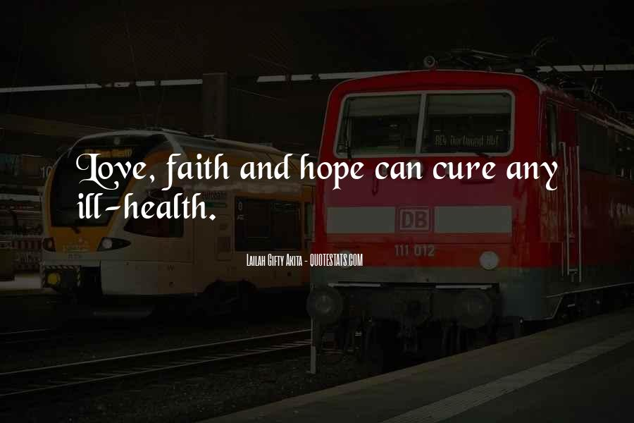 Quotes About Hope For A Cure #864060