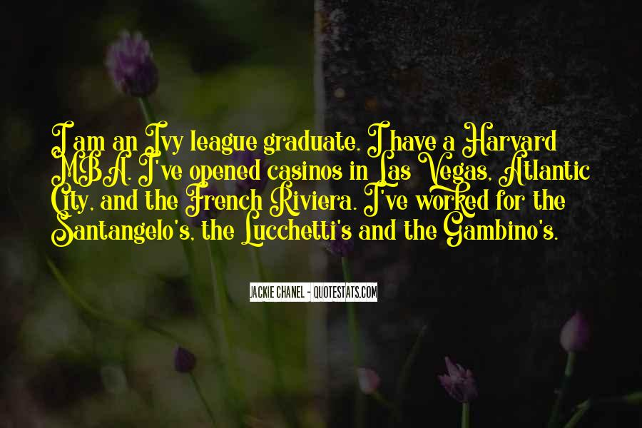 Quotes About The Ivy League #1008450