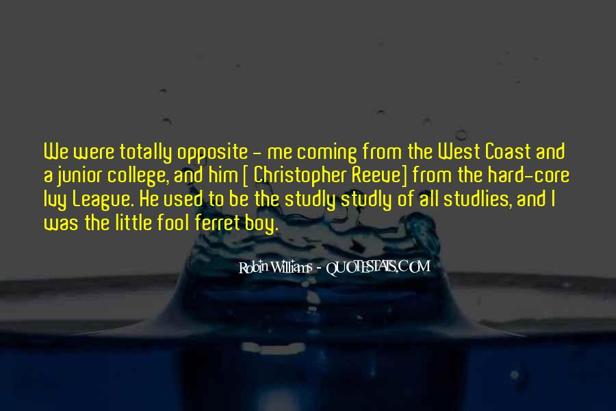 Quotes About The Ivy League #271458