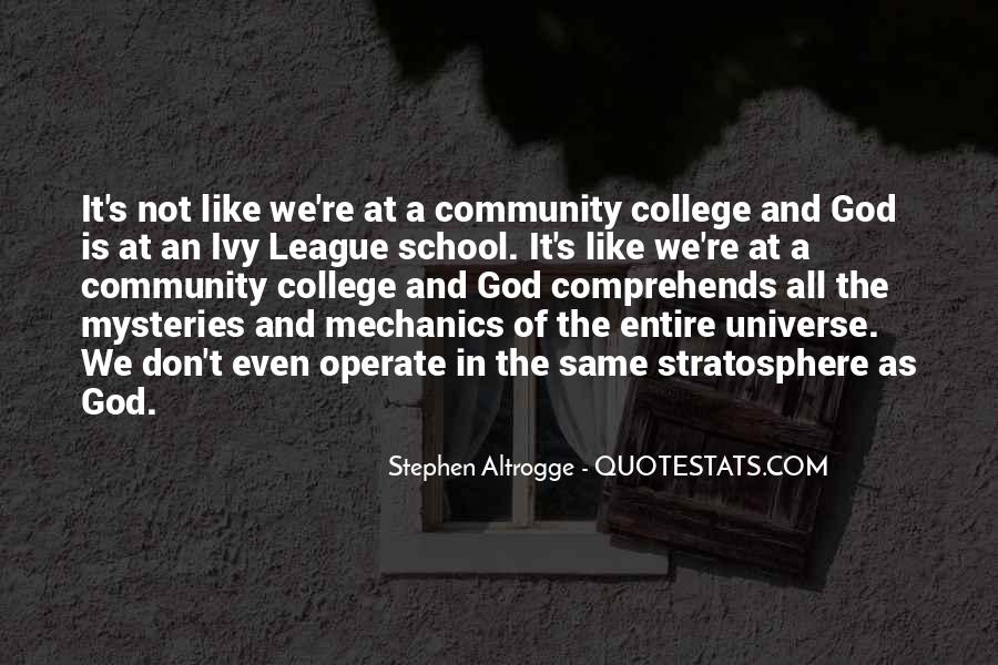 Quotes About The Ivy League #451873