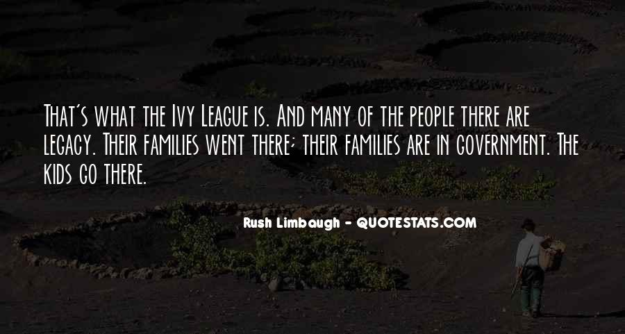 Quotes About The Ivy League #733753
