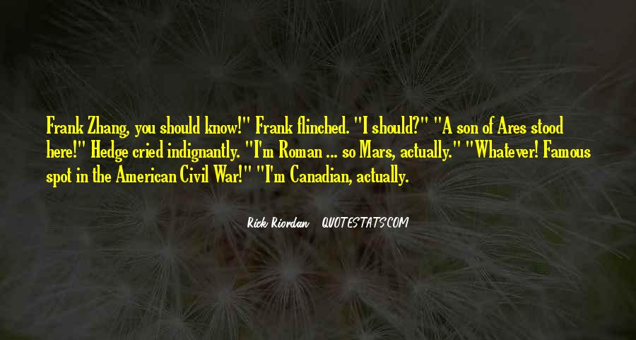 Famous Canadian Quotes #1094239