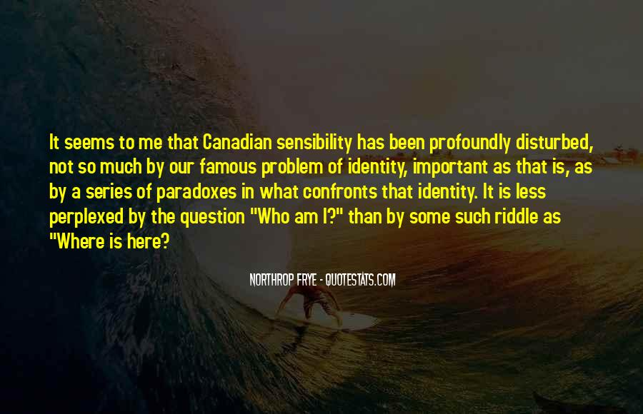 Famous Canadian Quotes #83559