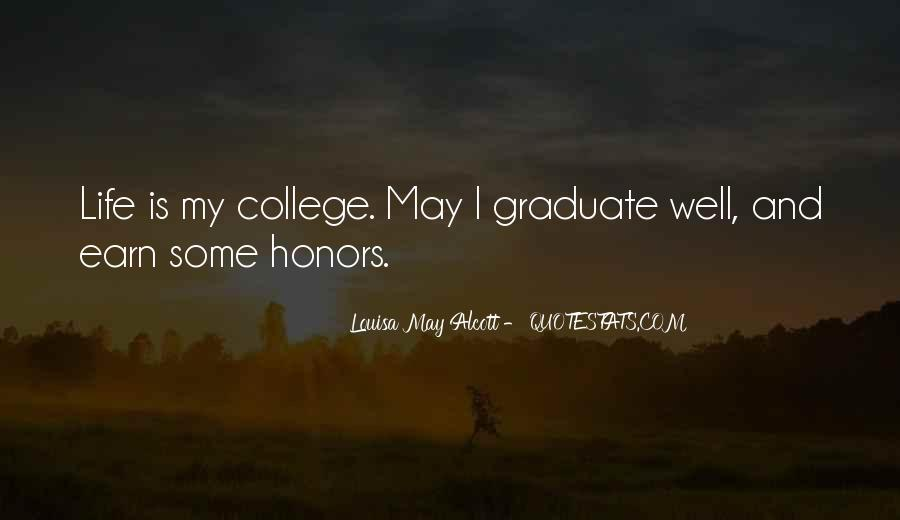 Quotes About Honors #142558