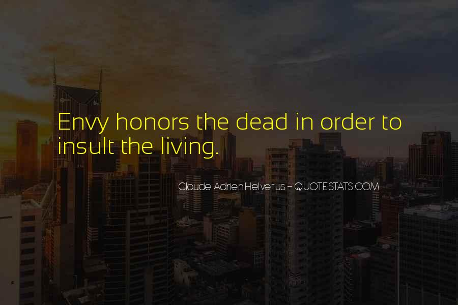 Quotes About Honors #298077