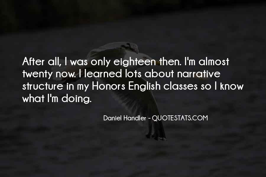 Quotes About Honors #601342