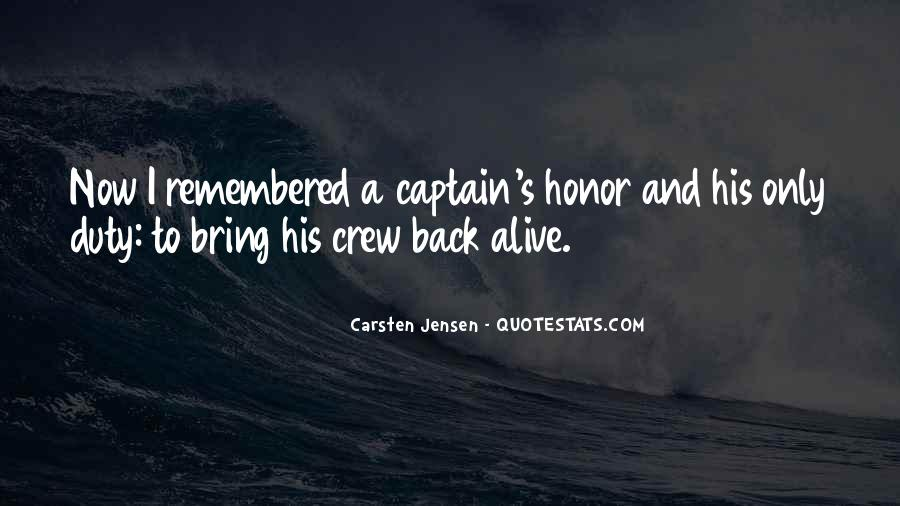 Quotes About Honor And Duty #1015666