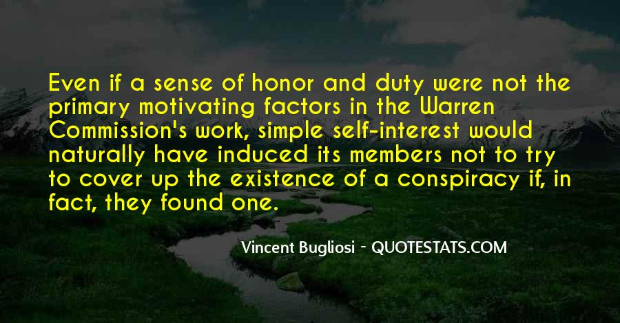 Quotes About Honor And Duty #1097891