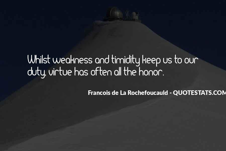 Quotes About Honor And Duty #1466668