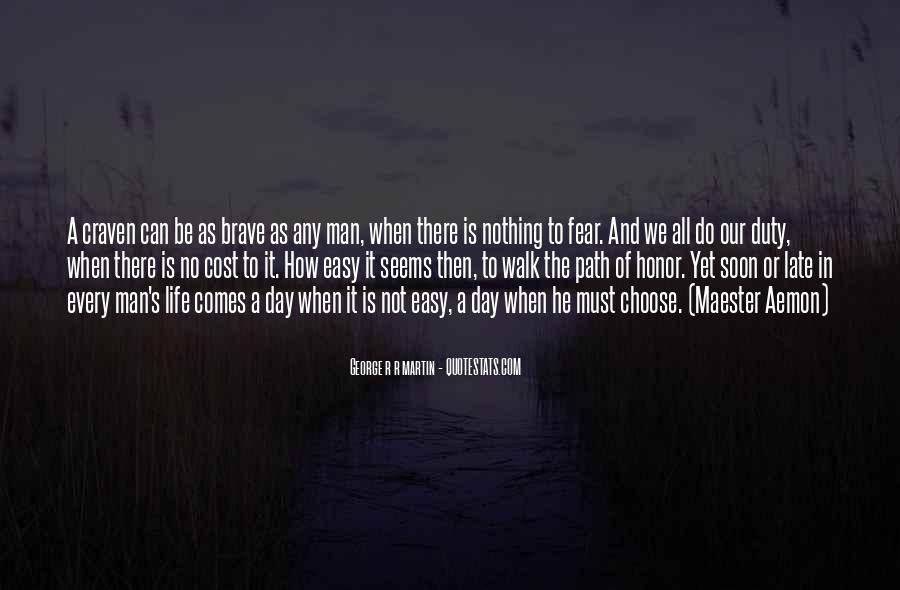 Quotes About Honor And Duty #1504692