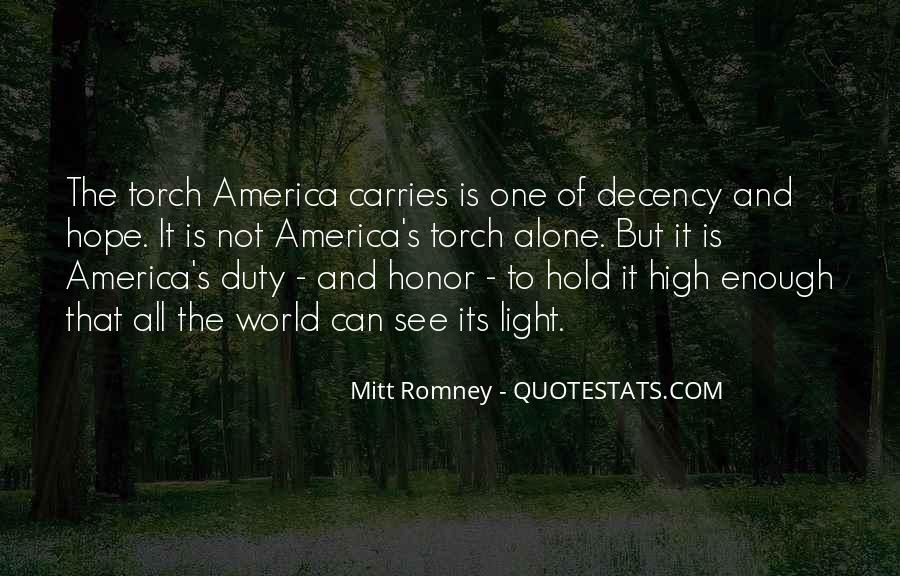 Quotes About Honor And Duty #1707702