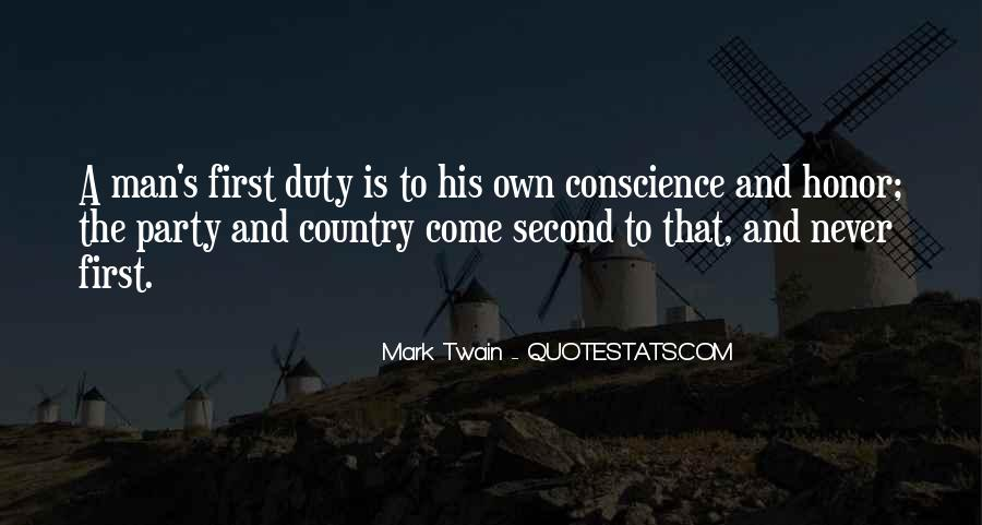 Quotes About Honor And Duty #515608