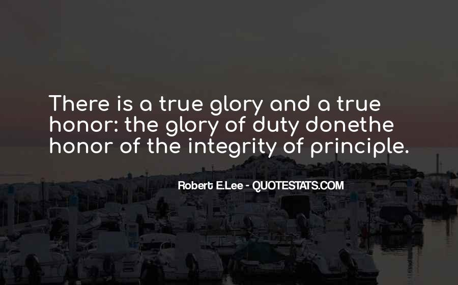 Quotes About Honor And Duty #778646