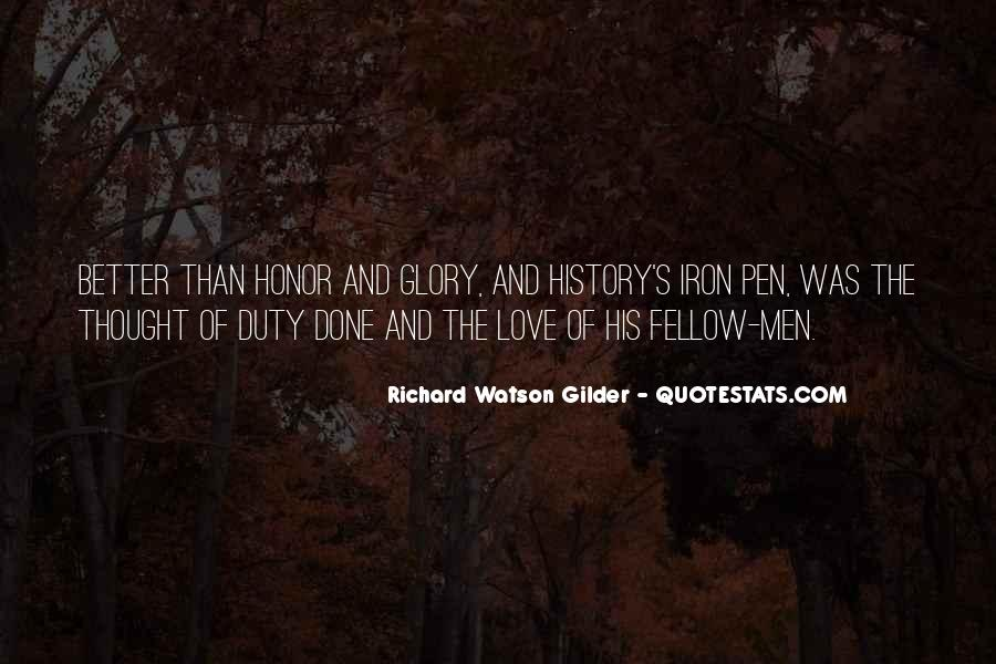 Quotes About Honor And Duty #951892