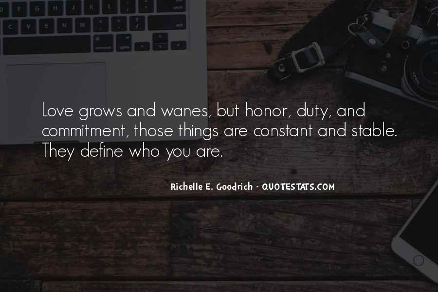 Quotes About Honor And Duty #994776