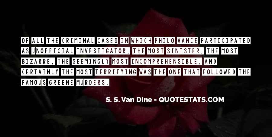 Famous Criminal Quotes #354431