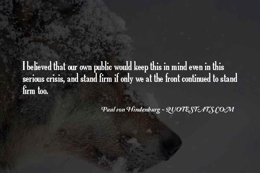 Famous Culprit Quotes #1371592